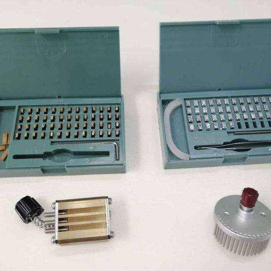 Números y Letras para selladoras y codificadoras de banda 0