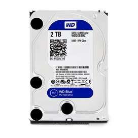 Disco Duro PC Western Digital 2TB Blue