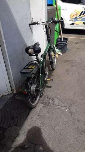 Bicicleta electrica eltomacorriente
