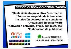 Servicio técnico & Publicidad