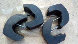 Uñas paragolpe Peugeot 404