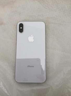 Vendo iphone x de 256gb solo claro