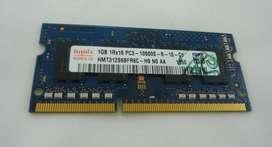 Memoria RAM SODIMM DDR3 De 1 GB Usadas.
