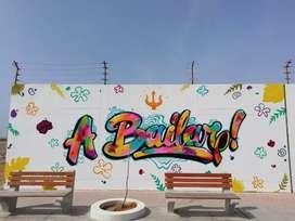 Graffiti y pintado de decoración