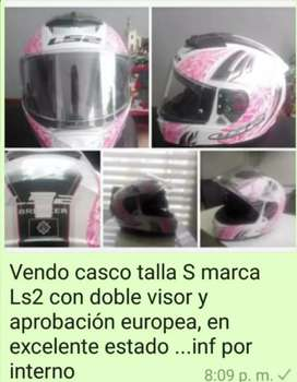 Venta de casco con certificación europea LS2