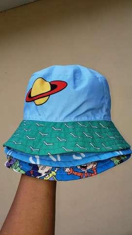 Gorros bucket hat o pescador de diseños de rugrats