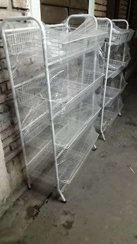 Vendo estantes para verduleria