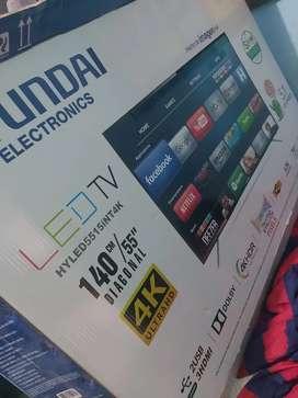 Smart tv Hyundai  4k 55 pulgadas