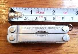 Leatherman Micra Navaja Cuchilla herramienta multiusos