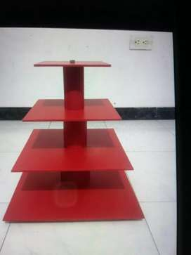 Base soporte torre o bandeja para cupcakes 4 niveles en madera mdf
