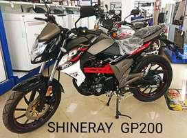 MOTOCICLETA SHINERAY XY 200-9  IMPORTADORA CHIMASA S.A.