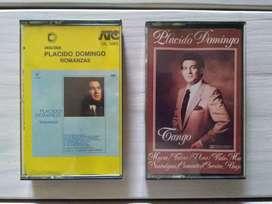Cassettes Plácido Domingo Tango - Romanzas