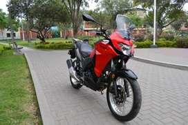 Kawasaki Versys -X 300 2017 $5,500 21,KM Rojo