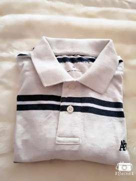 Camiseta de cuello AEROPOSTALE DE HOMBRE TALLA M Nueva y original