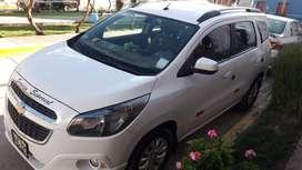 chevrolet modelo spin de 7 pasajeros  placa taxi,listo para trabajar en empresa.