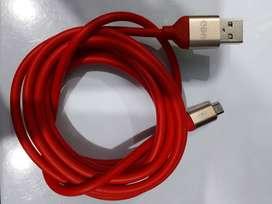 Cable De Carga Rápida Y Datos V8 Y Tipo C Cba 2m