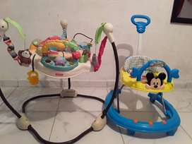 Jumpero fisher price y Caminador