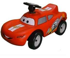 Montable para niños Rayo Mcqueen Cars 3 carrito