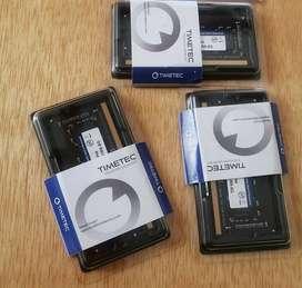 Memoria Ram portatil 8GB DDR4 2400MHz -19200 CL17 TIMETEC
