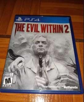 The evil within 2 Perfecto estado español juegos ps4