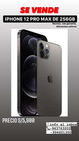 Iphone 12 pro max de 256 gb