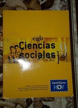 Libro: Ciencias Sociales 9