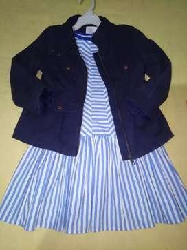 Vestido americano talla 5t