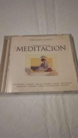 Cd Serie Música Clasicos Para Meditación Y Yoga