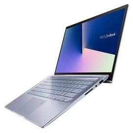 "ASUS ZENBOOK UM431DA-AM026 - AMD RYZEN 5 3500U - 256GB SSD - 8GB DDR4 - PANTALLA 14"" - HDMI - SILVER BLUE METAL"