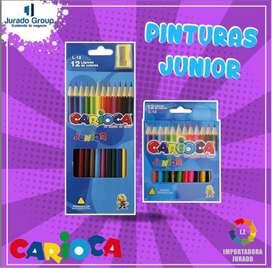 Pinturas Junior Carioca DOCENA
