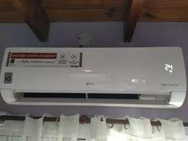 Aire acondicionado LG dual inverter frio calor 3500kw.