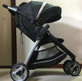 Coche de bebe y silla para carro GRACO travel system