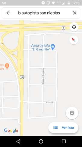 Vendo terreno b autopista