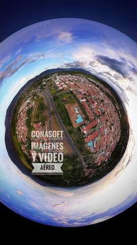 Fotografía Aérea. Alquiler Drones EVENTOS INGENIERÍA MULTIMEDIA