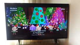 Se vende smart tv 43