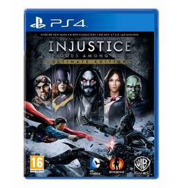 Injustice Gods Among Us Ultimate Edition PS4 NUEVO