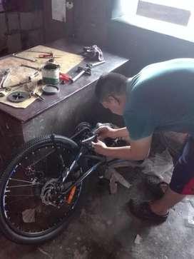 Reparación Y Mantenimiento de Bicicletas