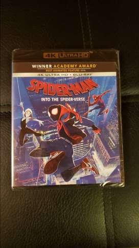 Spider Man Into The Spider-Verse 4K + Blu Ray + Digital y Juegos Xbox One incluye envío nacional!