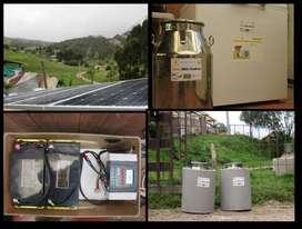 Kit de refrigeración solar, fabricación Alemana, Marca Steca. 2 meses de uso en proyecto de investigación universitario.