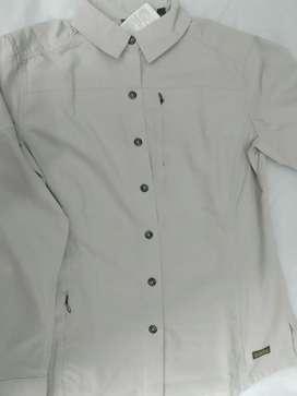 Camisa Mujer Talla Xs Treking