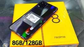 Celular Realme 8 de 8GB de ram y 128GB de interna NUEVO