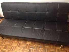 vendo sillón futon ecocuero