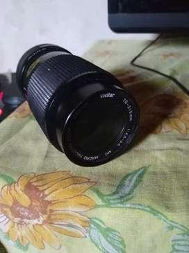 Vendo lente macro y flash canon los dos x 2000 o el flashl