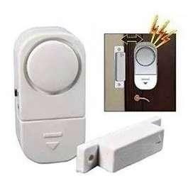 Alarma Puerta Sonora Magnetica Inalambrica Timbre 220v $