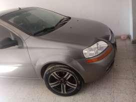 Chevrolet aveo fomily, motor 1500, mecanico, 4 puertas modelo 2012