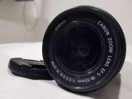 Lente 18-55 mm Canon