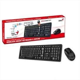 Combo Teclado y Mouse Inalambrico Genius Smart KM-8200