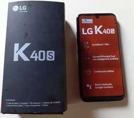Celulares lg k40s nuevos en caja libres