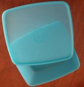 TUPPERWARE RECTANGULAR TURQUESA