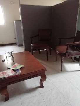 Vendo muebles para sala de espera de oficina